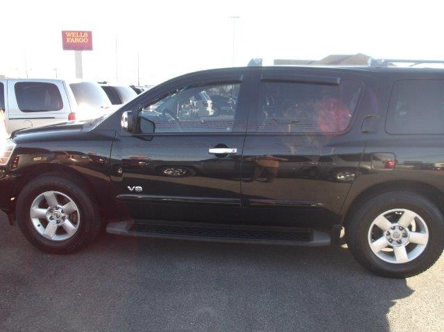 2007 NISSAN ARMADA 4-DR MPV black down payment 3500  excel motors offers an extensive inventory o