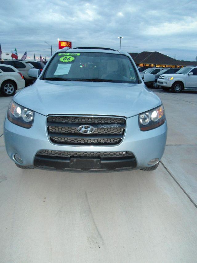 2007 HYUNDAI SANTA FE LIMITED 4DR SUV blue 2-stage unlocking - remote abs - 4-wheel air filtrati