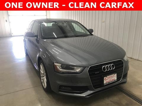 2014 Audi A4 for sale in Osceola, IN