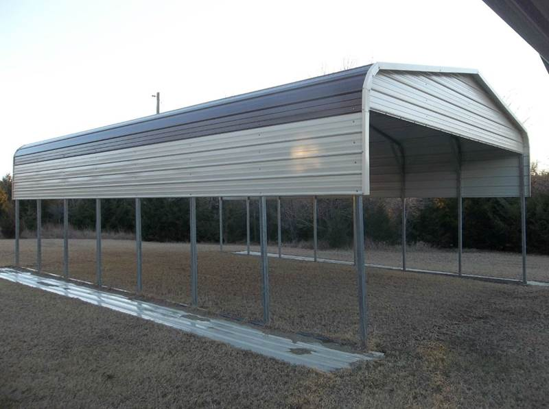 Carolina Carports Inc : Carolina carports inc regular boxed eve vertical r