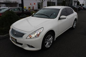 2012 Infiniti G25 Sedan for sale in Auburn, WA