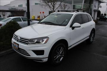 2015 Volkswagen Touareg for sale in Auburn, WA