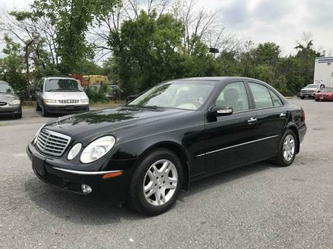 2003 Mercedes-Benz E-Class for sale in Suitland, MD