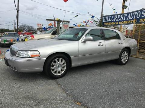 2007 Lincoln Town Car for sale in Suitland, MD