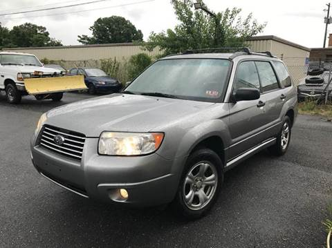 2007 Subaru Forester for sale in Suitland, MD