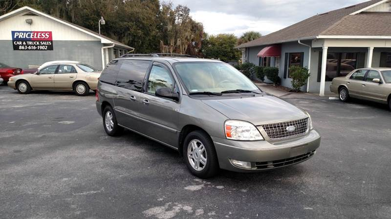 2004 ford freestar sel 4dr mini van in lakeland fl. Black Bedroom Furniture Sets. Home Design Ideas