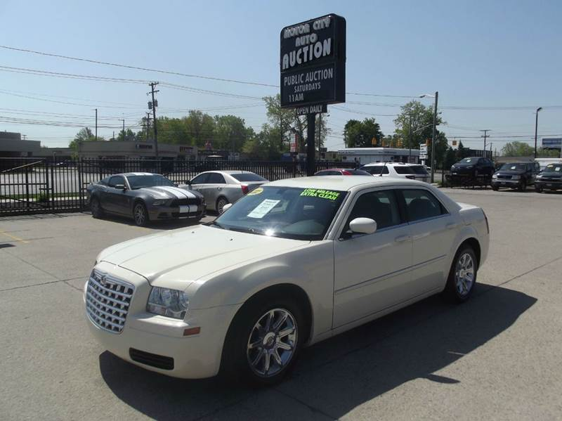 2008 chrysler 300 lx 4dr sedan in fraser mi motor city auto auction Motor city car sales