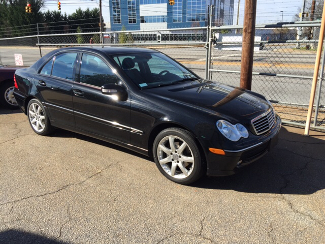 2004 mercedes benz c class c230 kompressor 4dr sedan in se