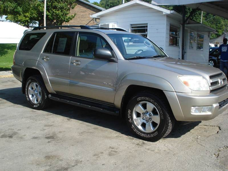 2004 Toyota 4runner Sr5 4wd 4dr Suv In Knoxville Tn