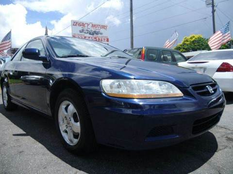 2002 Honda Accord for sale in New Port Richey, FL