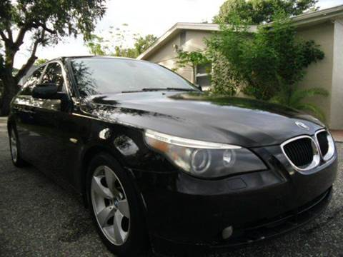 2005 BMW 5 Series for sale in New Port Richey, FL