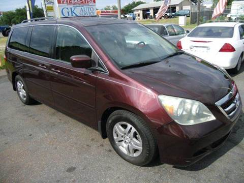 2007 Honda Odyssey for sale in New Port Richey, FL