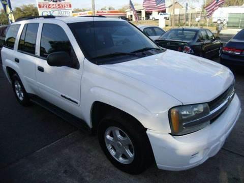 2002 Chevrolet TrailBlazer for sale in New Port Richey, FL