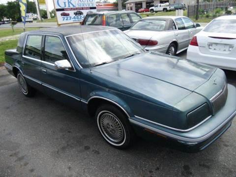 1993 Chrysler New Yorker for sale in New Port Richey, FL