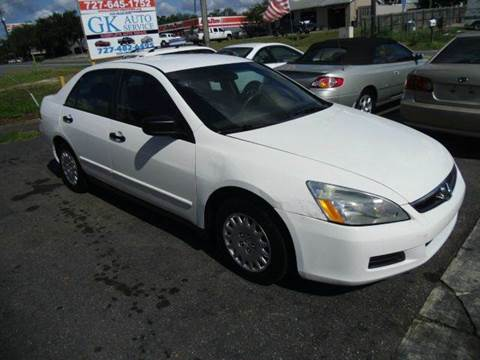 2007 Honda Accord for sale in New Port Richey, FL