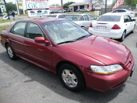 2002 Honda Accord for sale in New Port Richey, FL