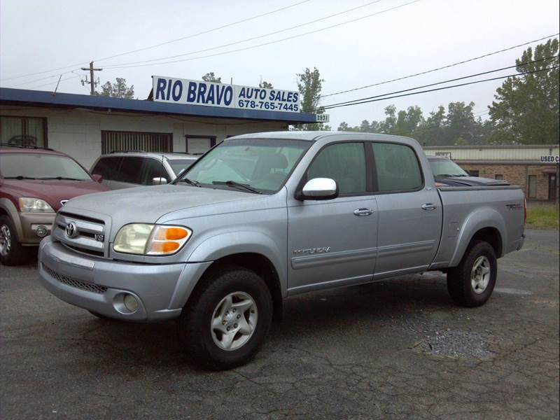 2004 toyota tundra 4dr double cab sr5 4wd sb v8 in buford. Black Bedroom Furniture Sets. Home Design Ideas