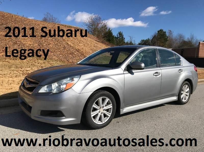 2011 subaru legacy 2.5i premium oil type