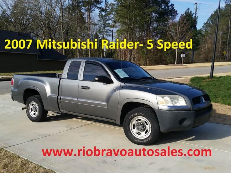 2007 Mitsubishi Raider Ls 4dr Extended Cab Sb 6m In Buford Ga Rio