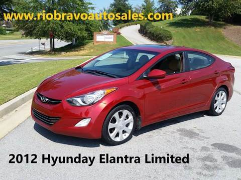 2012 Hyundai Elantra for sale in Buford, GA