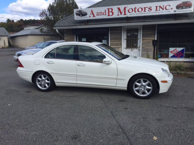 2004 mercedes benz c class awd c240 4matic 4dr sedan in