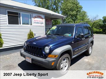 2007 Jeep Liberty for sale in Clinton, NY