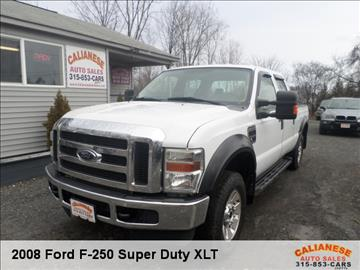 2008 Ford F-250 Super Duty for sale in Clinton, NY