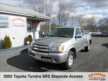 2003 Toyota Tundra for sale in Clinton, NY