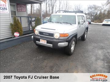 2007 Toyota FJ Cruiser for sale in Clinton, NY