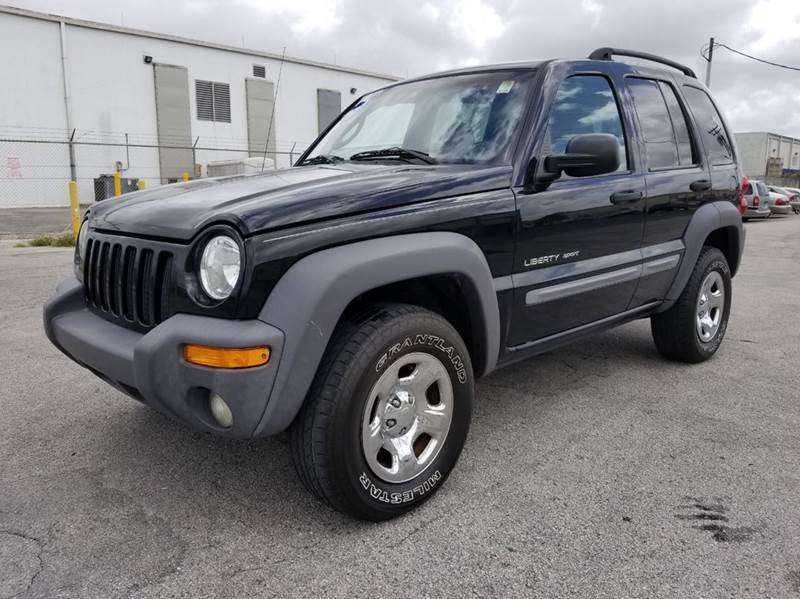 2002 jeep liberty sport 4dr 4wd suv in miami fl citgo. Black Bedroom Furniture Sets. Home Design Ideas