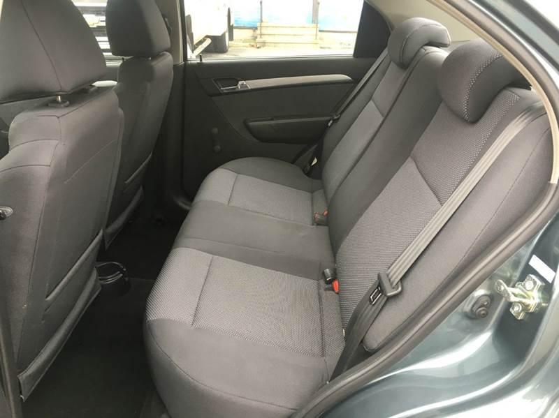 2010 Chevrolet Aveo LS 4dr Sedan - Carmel NY