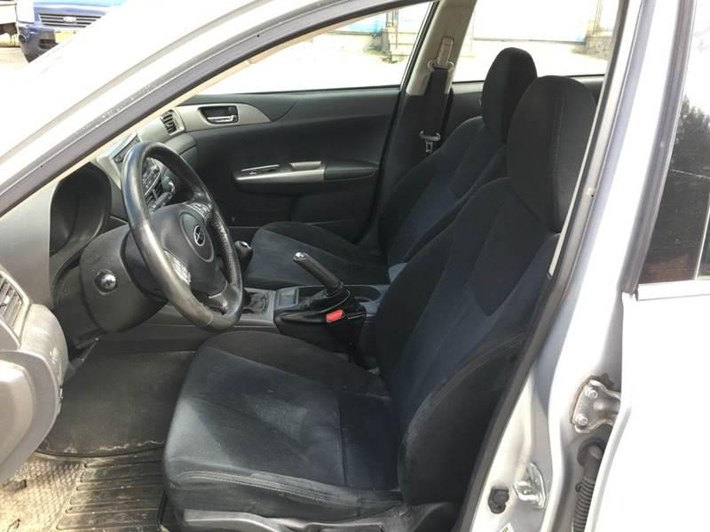 2008 Subaru Impreza AWD 2.5i 4dr Sedan 5M - Carmel NY