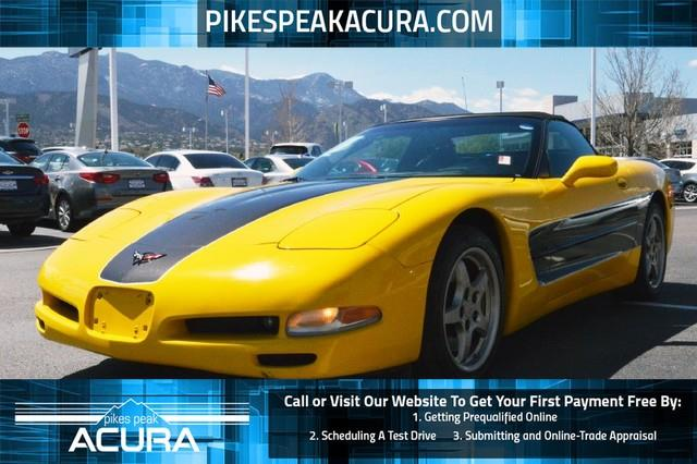 Used chevrolet corvette for sale in colorado springs co for Teeter motor co used car division malvern ar