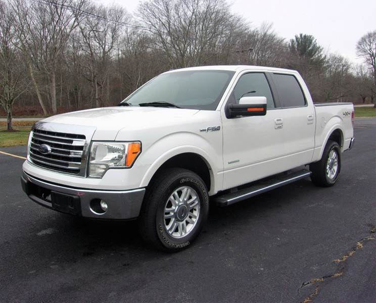 2013 Ford F-150 4x4 Lariat 4dr SuperCrew Styleside 5.5 ft. SB - East Bridgewater MA