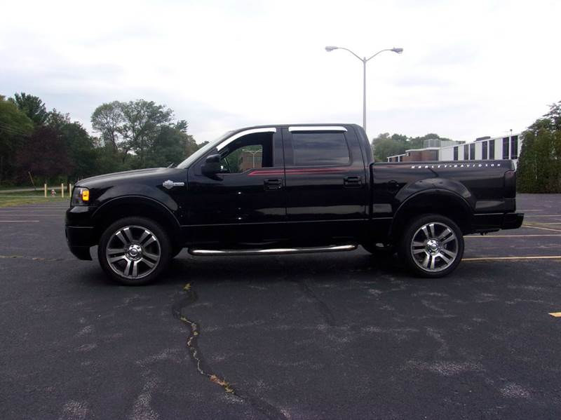 2007 ford f 150 harley davidson 4dr supercrew 4wd 5 5 ft sb in east bridgewater ma route 106. Black Bedroom Furniture Sets. Home Design Ideas