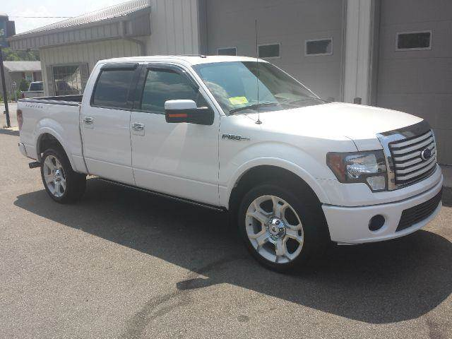 2011 ford f 150 lariat limited 4x4 4dr supercrew styleside 5 5 ft sb in east bridgewater ma. Black Bedroom Furniture Sets. Home Design Ideas