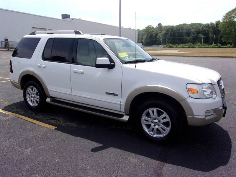 2007 ford explorer eddie bauer 4dr suv 4wd v6 in east bridgewater ma route 106 motors. Black Bedroom Furniture Sets. Home Design Ideas