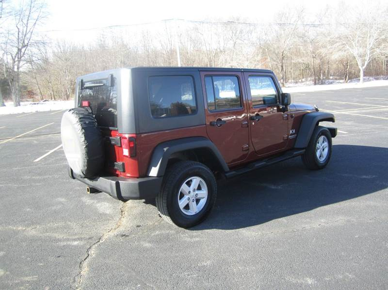 2008 jeep wrangler unlimited 4x4 x 4dr suv in east for 2008 jeep wrangler motor