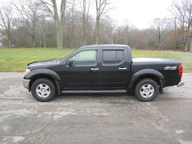 2008 nissan frontier 4x4 se v6 4dr crew cab 5 0 ft sb pickup 5a in east bridgewater ma route. Black Bedroom Furniture Sets. Home Design Ideas