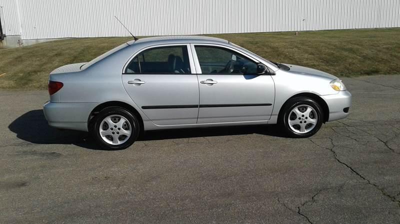 2007 toyota corolla ce manual sedan