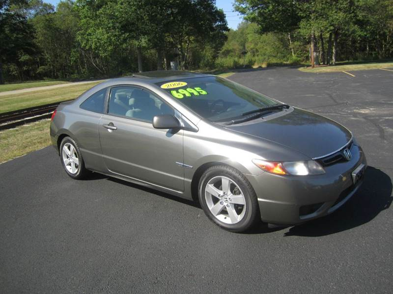 2006 honda civic ex 2dr coupe in east bridgewater ma route 106 motors. Black Bedroom Furniture Sets. Home Design Ideas