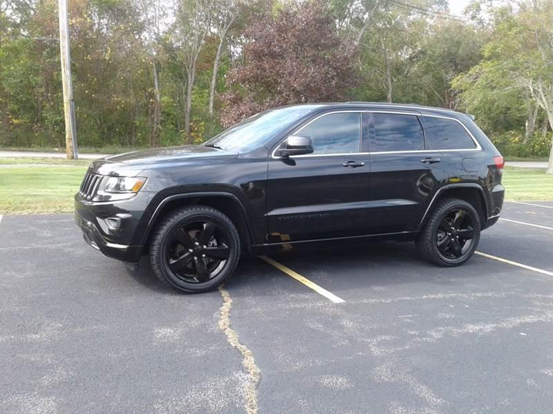 2014 Jeep Grand Cherokee 4x4 Altitude 4dr SUV - East Bridgewater MA