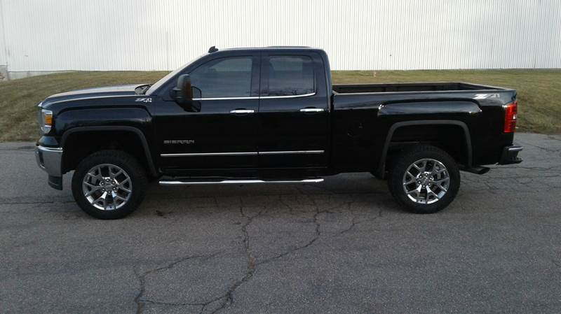 2014 gmc sierra 1500 4x4 slt 4dr double cab 6 5 ft sb in east bridgewater ma route 106 motors. Black Bedroom Furniture Sets. Home Design Ideas