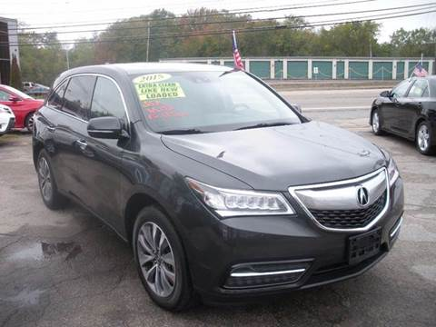 2015 Acura MDX for sale in North Attleboro, MA