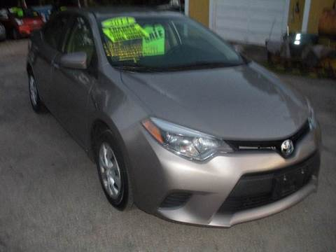 2014 Toyota Corolla for sale in North Attleboro MA