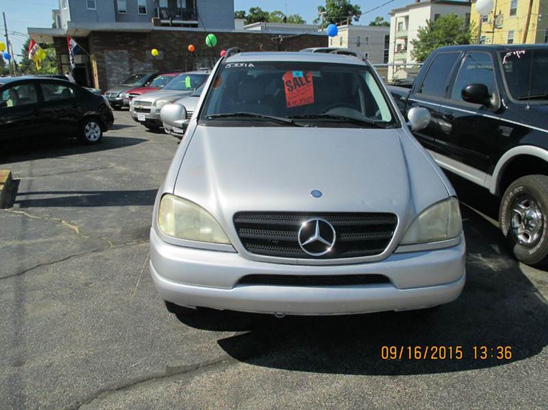 2000 mercedes benz m class awd ml320 4matic 4dr suv in for Mercedes benz manchester nh