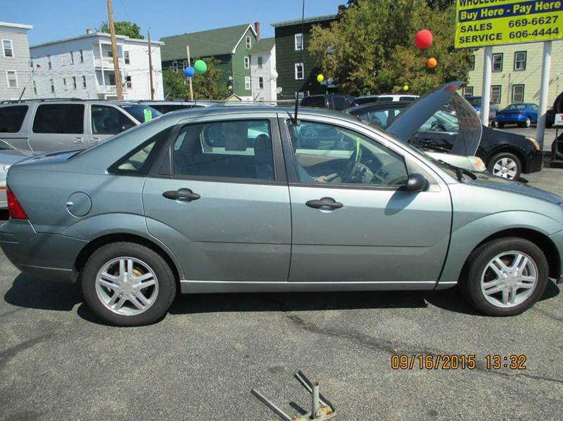 2005 ford focus zx4 s 4dr sedan in manchester nh merrow. Black Bedroom Furniture Sets. Home Design Ideas