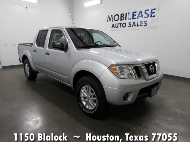 2015 nissan frontier 2wd crew cab swb automatic sv in houston tx mobilease inc. Black Bedroom Furniture Sets. Home Design Ideas