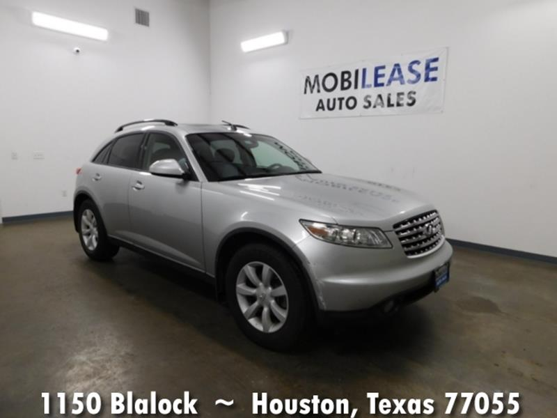 2004 infiniti fx35 rwd 4dr suv in houston tx mobilease inc 2004 infiniti fx35 rwd 4dr suv houston tx sciox Images