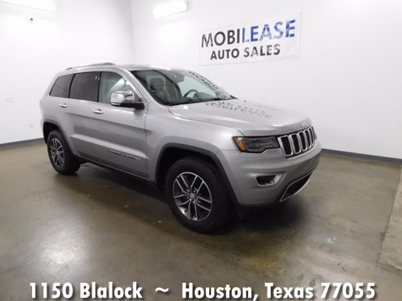 2017 Jeep Grand Cherokee 4x2 Limited 4dr Suv In Houston Tx